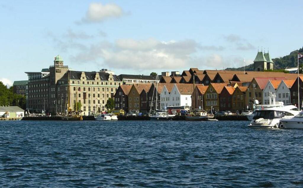 Clarion Collection Hotel Havnekontoret i Bergen er best likt blant Hotels.com sine brukere. Foto: Hotels.com