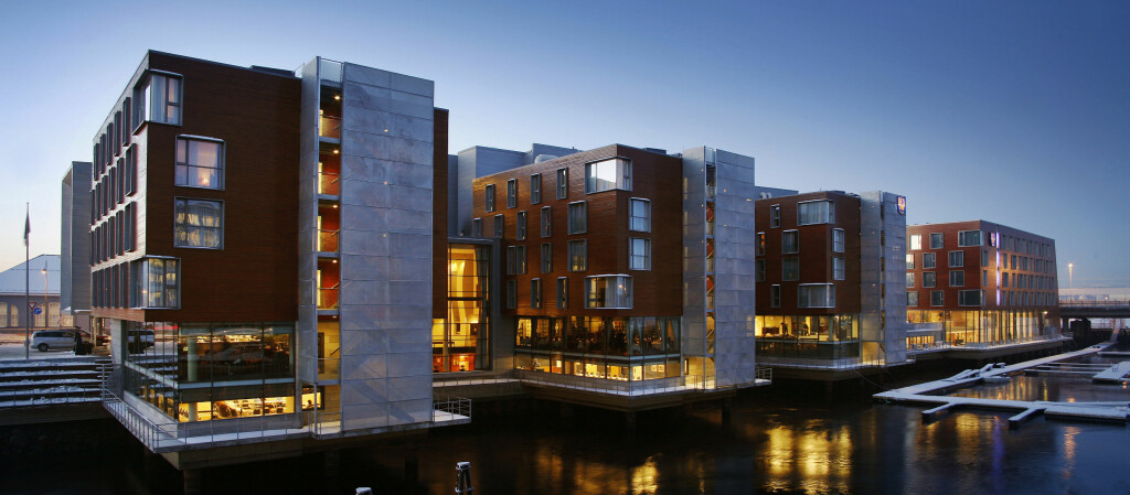 Rica Nidelven Hotel i Trondheim kom best ut i undersøkelsen. Den fikk 9,2 poeng av 10 mulige. Foto: Hotels.com