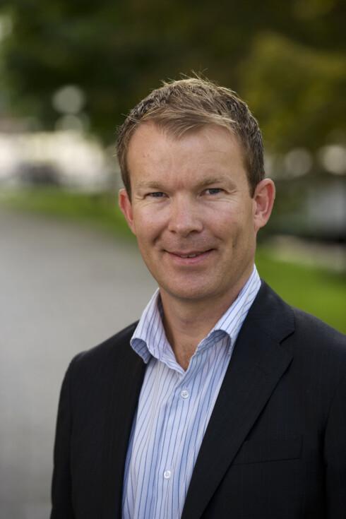 Informasjonsdirektør Thomas Midteide i DnB NOR. Foto: DNB