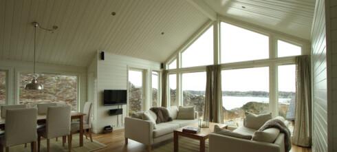 Vi vil ha store vinduer på hytta