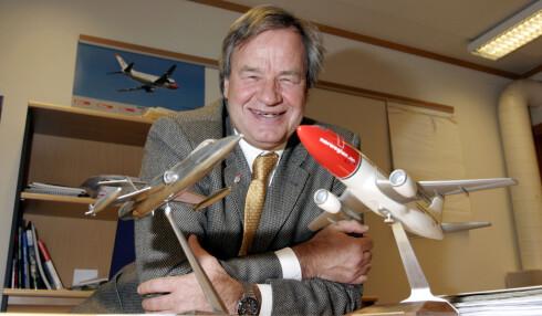 Bjørn Kjos sier at de nye flyene gir Norwegian mulighet til å få kostnadene ned, noe som er helt avgjørende i konkurransen fremover. Foto: Per Ervland