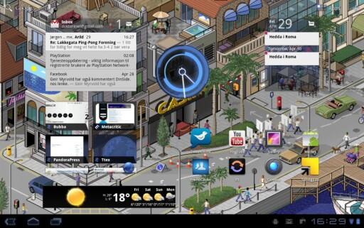 HONEYCOMB: Android 3.x er et pent operativsystem, men ennå ungt.  Foto: Skjermdump