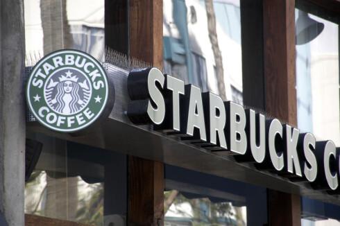 Det amerikanske kaffehuset Starbucks er etablert i over 50(!) land. Snart også i Norge. Foto: Colourbox