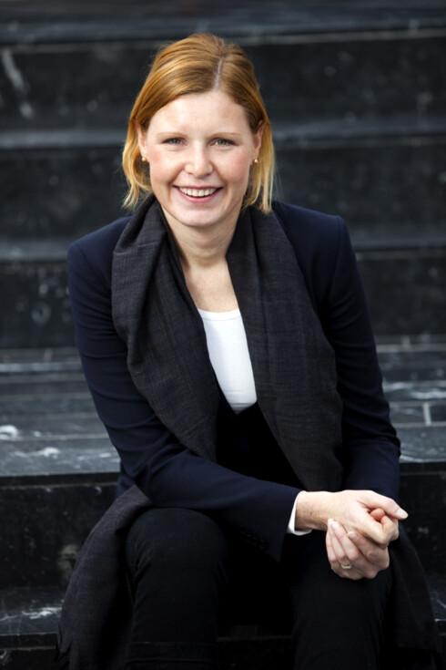 Forbrukerøkonom i Nordea Christine Warloe mener SMS-bank holder orden på utgiftene i ferien. Foto: Nordea