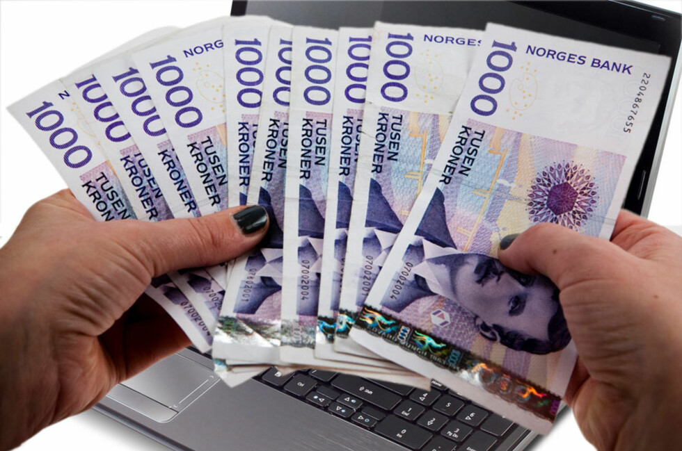 <strong>FÅR PENGER:</strong> Kvinnen får alle pengene tilbake etter at Acer-maskinen hennes gikk i stykker.  Foto: Ole Petter Baugerød Stokke/Per Ervland/Acer
