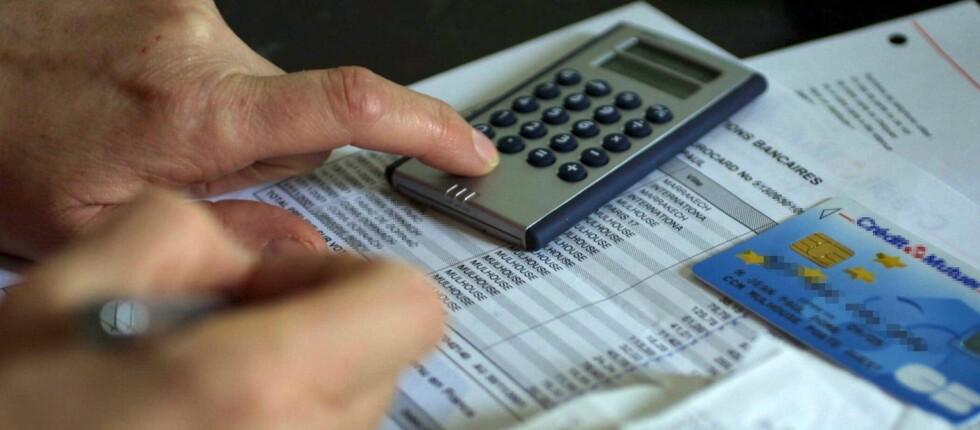 SLITER MED BETALINGEN: De med dårlig råd bruker kredittkort sjelden, men sliter med betalinga når de først har trukket kortet. Foto: Colourbox.com