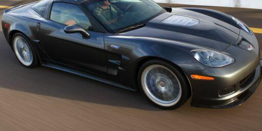 image: Nye Corvette ZR1 med kanontid på ringen