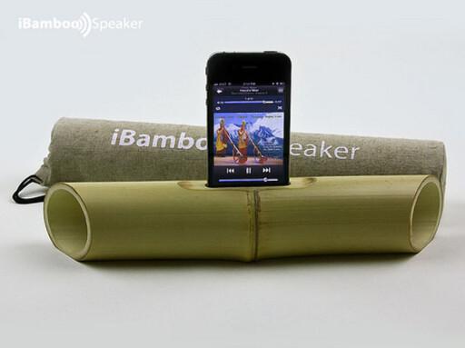 """""""Nei, det er ikke en didgeridoo, det er en iBamboo"""" Foto: Produsenten"""