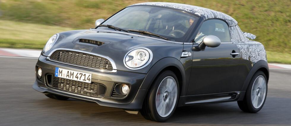 Coupé blir nok den hittil sportsligste bilen til Mini Foto: Mini