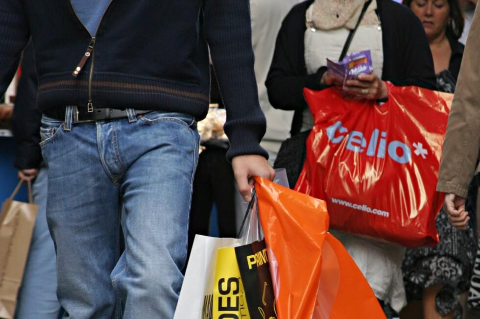 KJØPER MER: Lur markedsføring får oss til å handle mer enn planlagt.  Foto: Colourbox.com