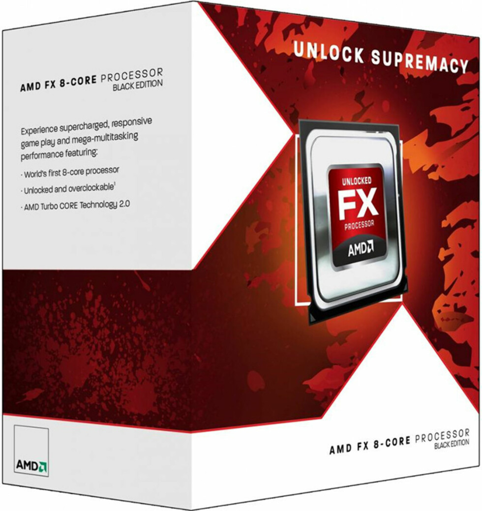 AMD lanserer nye FX-prosessorer