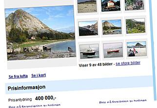 Få strandlinje fra 200.000 kroner