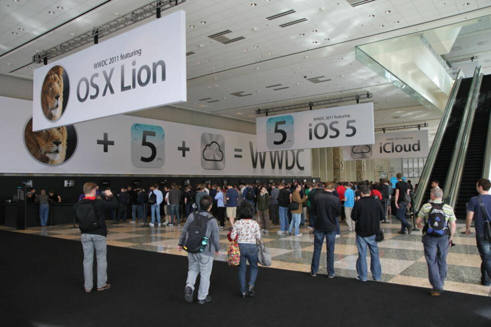 Årets WWDC-keynote skal hande om tre ting: iOS 5, OSX Lion og iCloud. (Foto av Ben Miller, CC-BY)