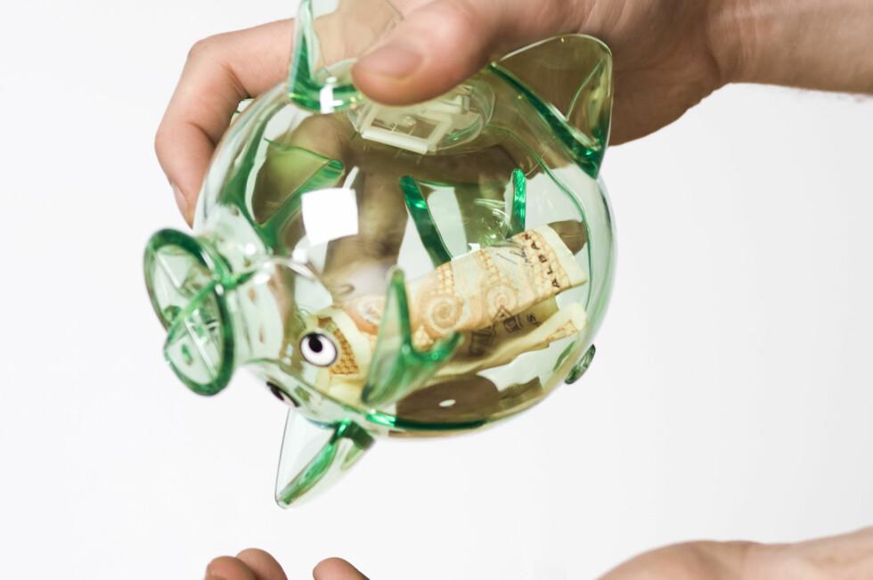 UNDER 34 ÅR: Da bør du spare så mye du kan i BSU, som er en meget gunstig spareform. Foto: COLOURBOX.COM