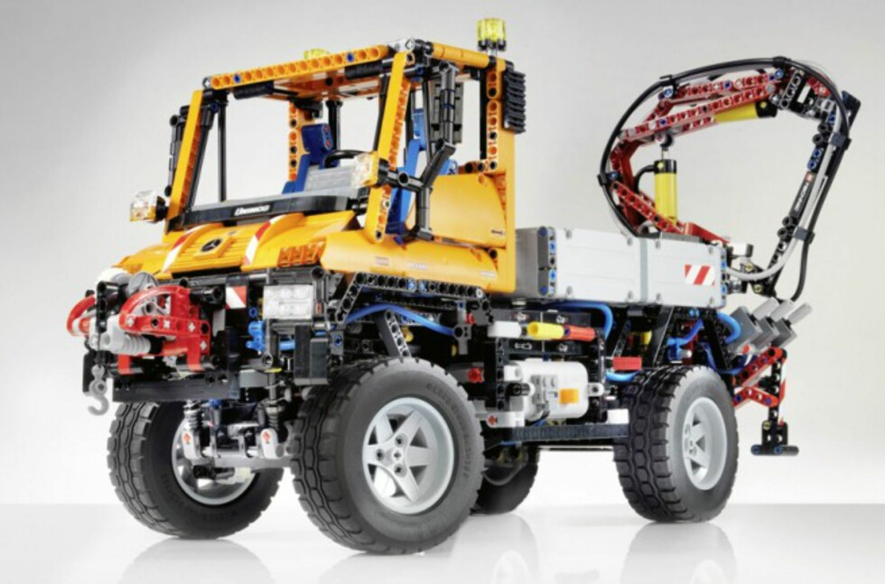 Mercedes Unimog fra Lego