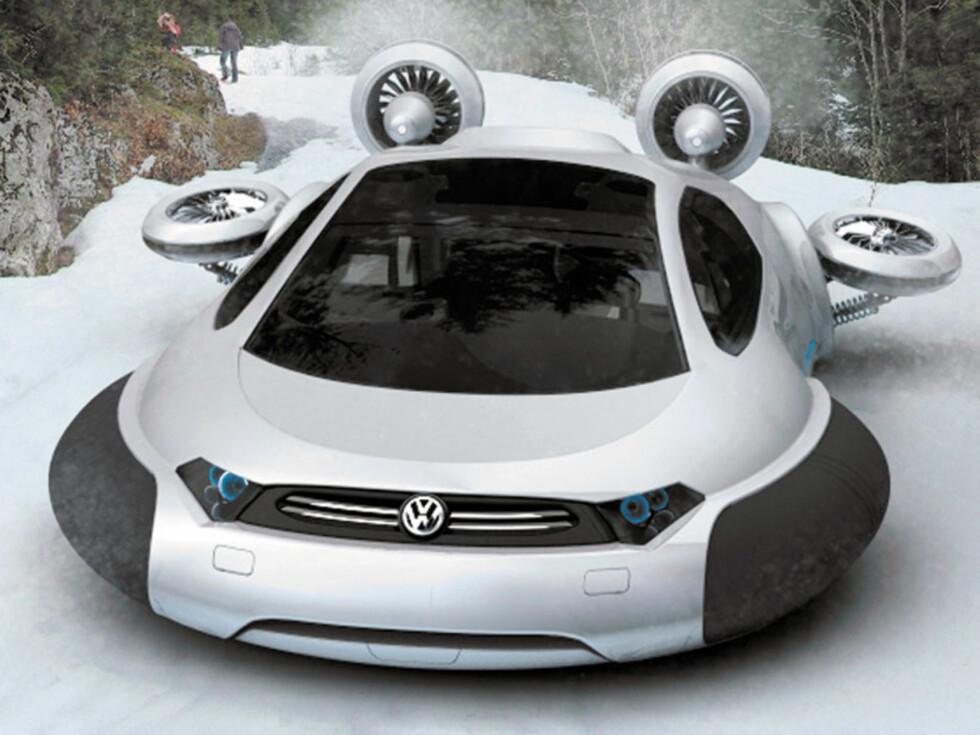 VOLKSWAGEN AQUA: Her får du alt i ett: bil, snøscooter og båt ...