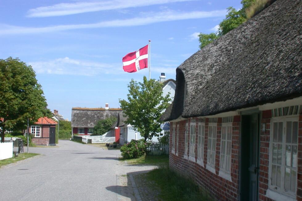 DYREST I DANMARK: Idylliske Fanø i Danmark kommer ut som dyreste feriedestinasjon i den ferske feriekostnadsundersøkelsen. Foto: Kristin Sørdal