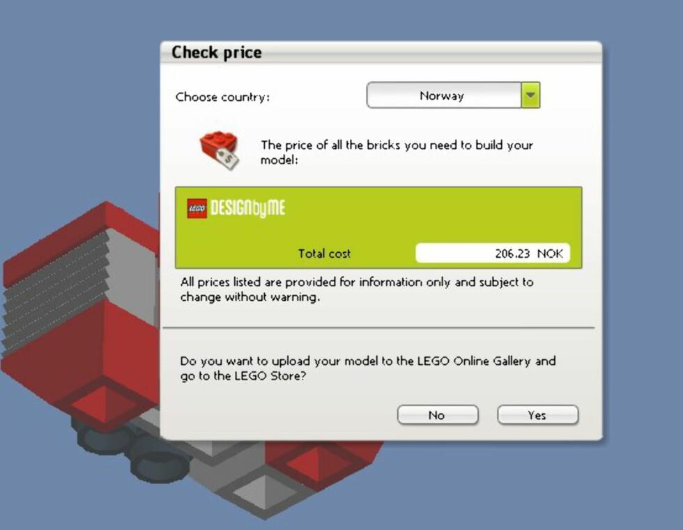 Bygg Lego på PC-en
