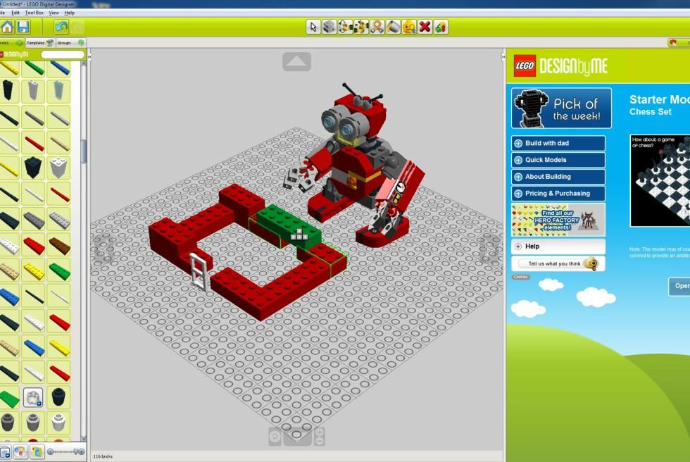 Nå kan du bygge Lego på skjermen, og bestille modellene etterpå. Hvis du vil selvfølgelig.