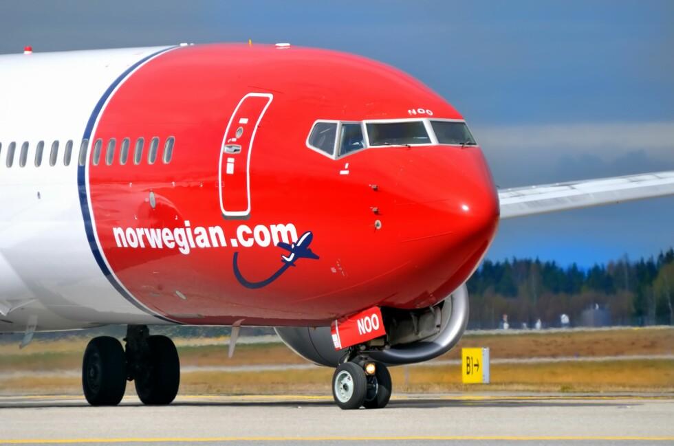 BILLIGST: Norwegian er billigst på fire av de fem reisene DinSide har sjekket pris på. Foto: Colourbox.com