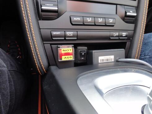 Porsche Boxster E, helt elektrisk