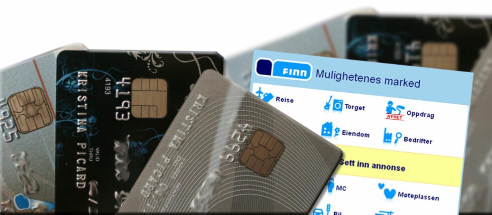 PHISHING: Denne helgen mottok mange Finn.no-brukere en e-post der de ble oppfordret til å oppgi kredittkortdetaljer. Foto: DinSide