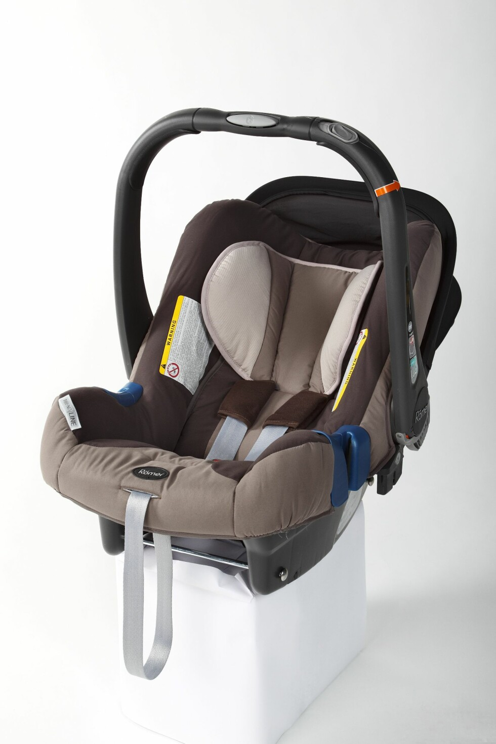 Roemer Baby-Safe Plus II SHR ble det beste babysetet. Foto: Produktbilder ICRT og Forbrukerrådet