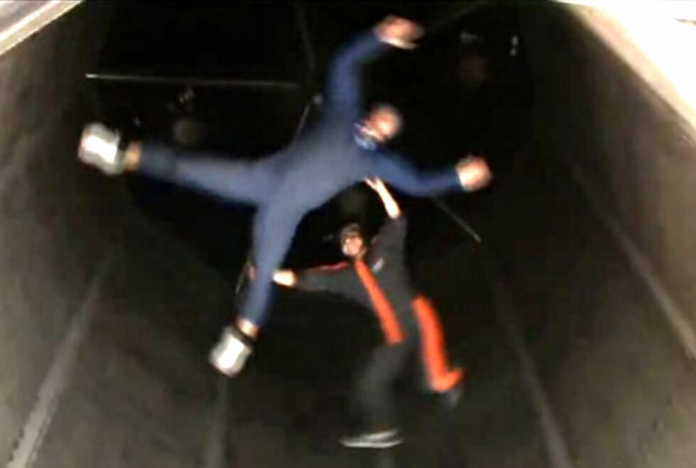 FRI FLYT: Har du lyst til å fly? Ta deg en tur i denne tunnelen!