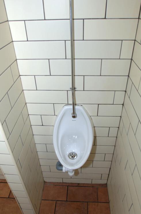 LOVLIG: Finn en slik en om det blir for mye for blæren din i sommer. Å urinere ute kan bli dyrt.  Foto: Colorbox