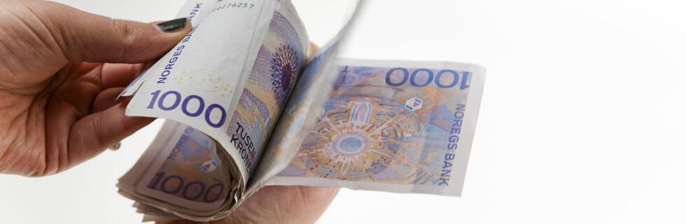 Bankene er klare til å sette opp rentene sine. Det betyr dyrere lån eller mer igjen for sparepengene dine. Foto: Per Ervland