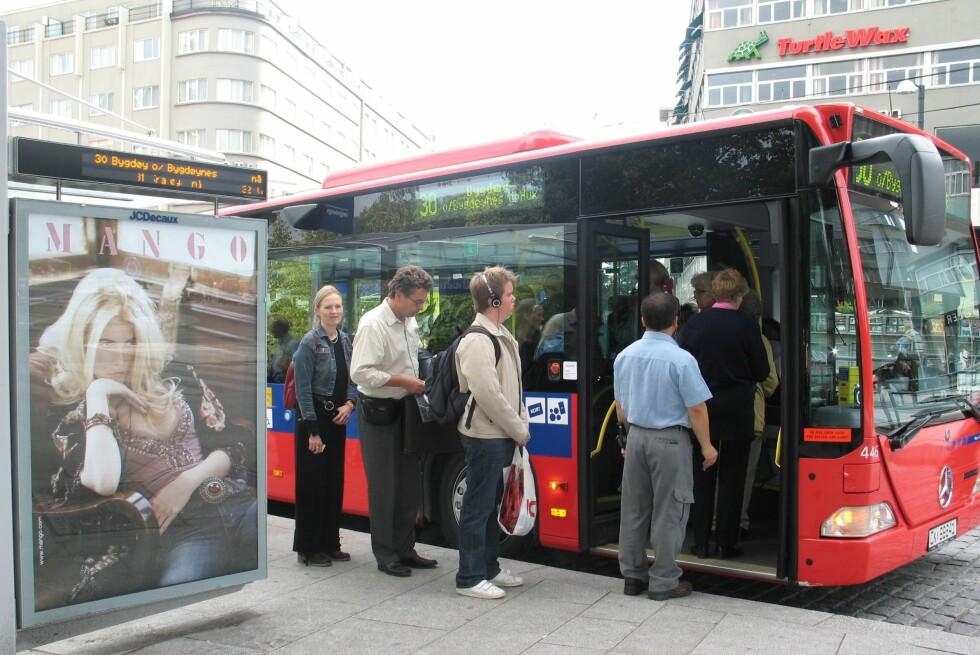 Du må betale mer for bussen