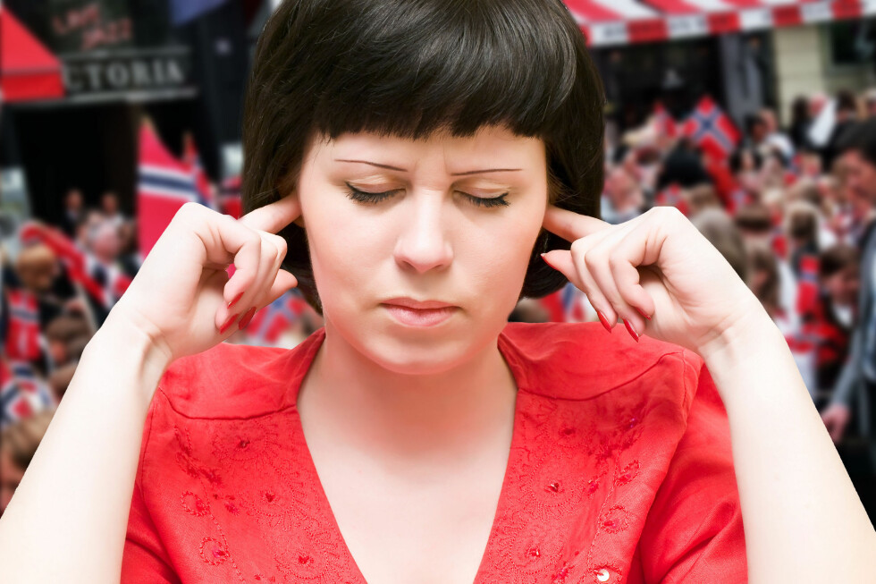 FARLIG: Støy på 17. mai kan være farlig for ørene dine.  Foto: Ole Petter Baugerød Stokke/Colorbox.com