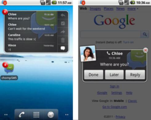 Slik bytter du SMS-applikasjon