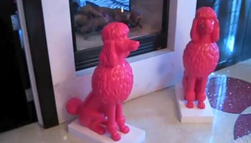 I LAS VEGAS: To Barbie-pudler. Fordi du trenger det ... Foto: YouTube