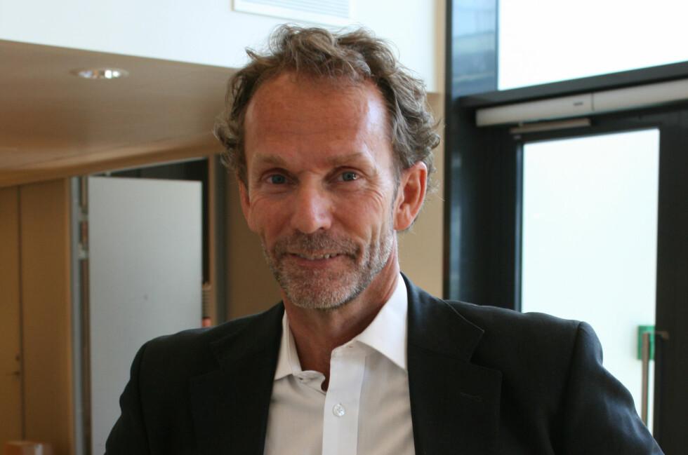 Harald Magnus Andreassen spår en gradvis renteoppgang de neste to-tre årene.  Foto: Berit B. Njarga