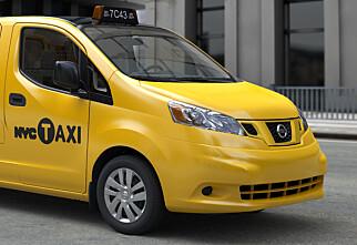 Morgendagens New York-taxi kommer fra Nissan