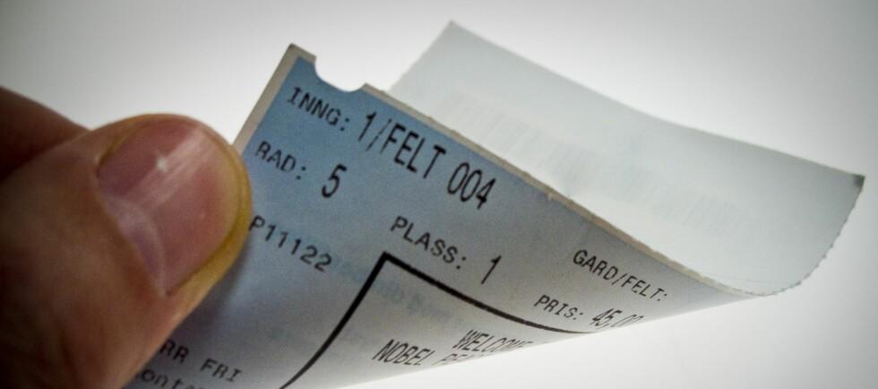 Billettformidleren Euroteam må punge ut for å ikke ha levert billetter som kundene har kjøpt. Foto: Per Ervland