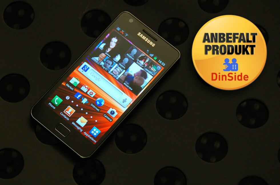 Samsung Galaxy S II er rett og slett den beste telefonen vi har testet.