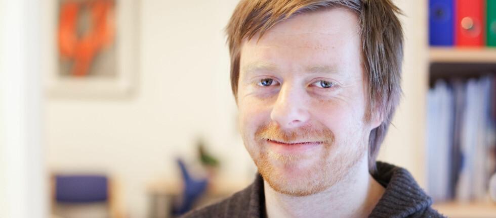 Andreas Framnes fikk jobb, etter at han blogget om at han var arbeidsledig. Foto: Brian Cliff Olguin