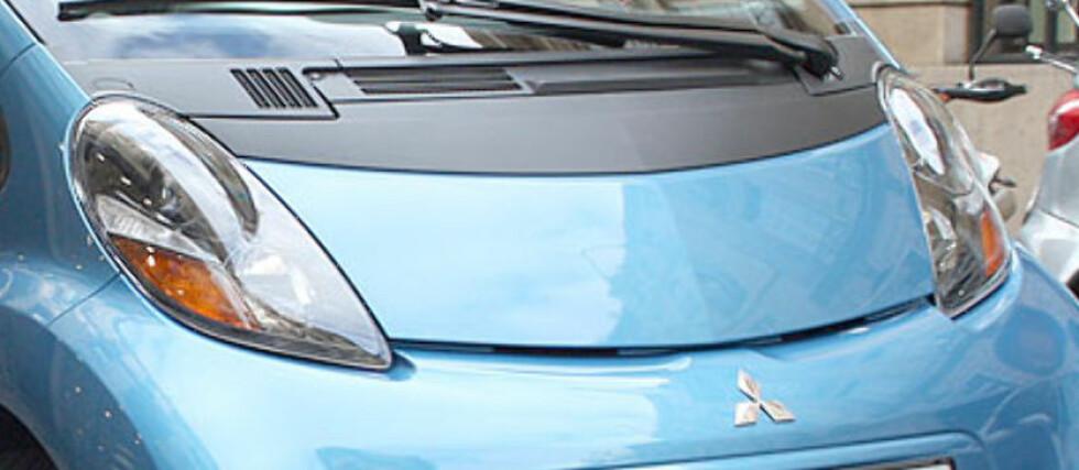 HEVET: Mannen fikk tilbake pengene for sin Mitsubishi i-Miev da selger ikke gjorde det klart nok at rekkevidden ikke ble god nok.  Foto: Knut Moberg