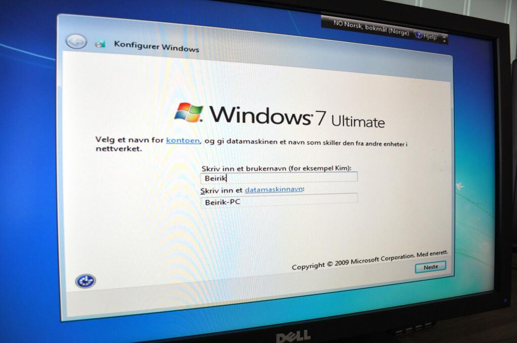 image: Oppsett og installasjon på ny PC