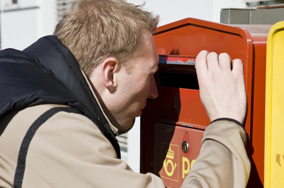 FARLIG: Det er mange som er interessert i hva som ligger i Norges postkasser. Pass på hva du legger der.  Foto: Colourbox.com