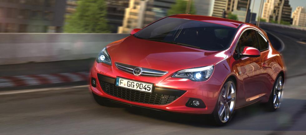 Opel Astra GTC i ny drakt