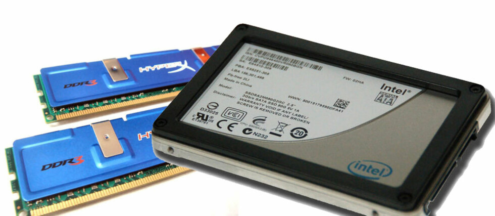 SSD eller mye RAM?