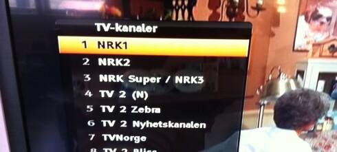 Hvor er HD-kanalene i kanallista?