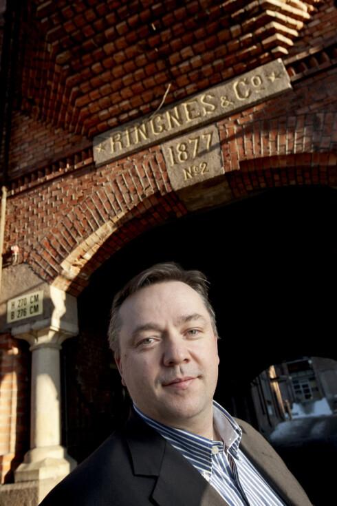 Marketingsjef i Ringnes, Lars Vonen mener sommerøl er en følelsesforsterker. Foto: Ringnes