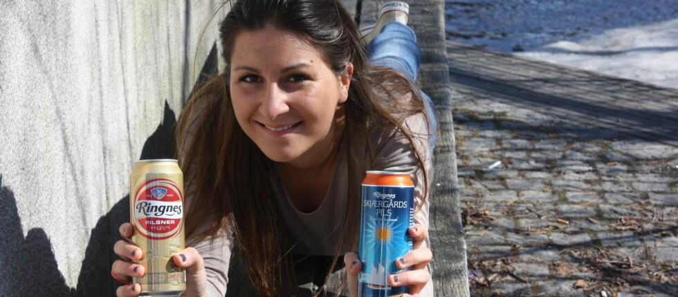 Sommerølet er i gjennomsnitt ti kroner dyrere enn vanlig øl.  Foto: Kine Toth