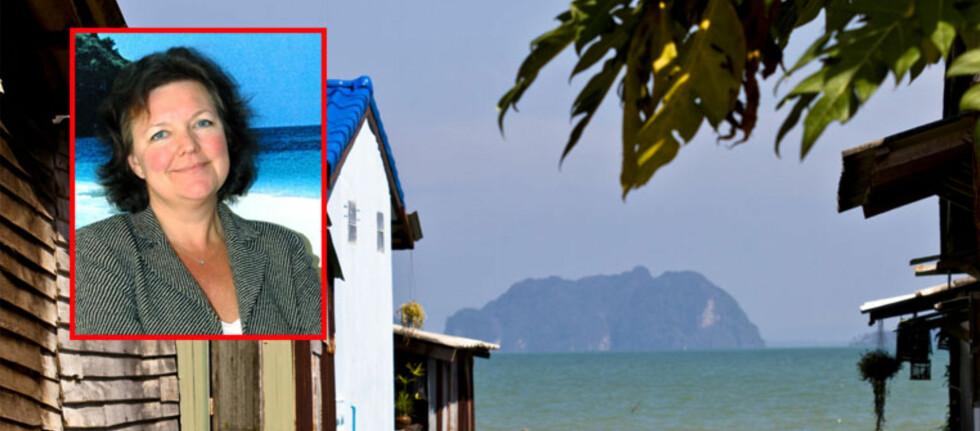 """Dette gjør hun ikke om igjen: Lena S. Petersson er kommunikasjons- og markedsdirektør i Star Tour, og forteller om  besøket på """"paradisøya"""" i nærheten av Koh Lanta i Thailand.   Foto: Star Tour/Colourbox.com"""