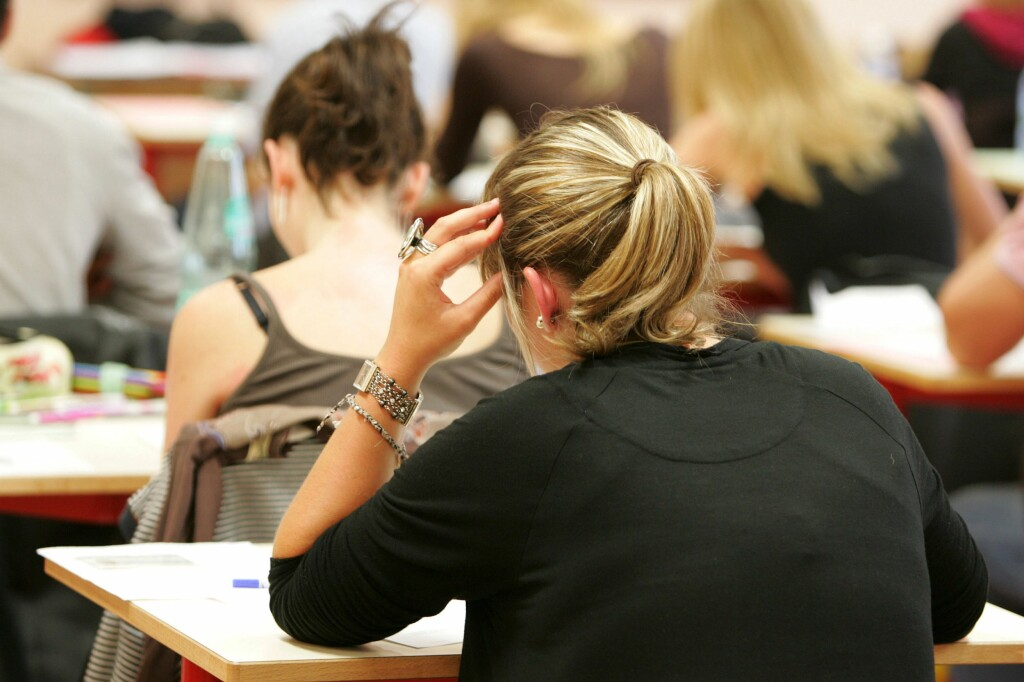 SLITER: Å ta førerprøven på vanlig måte kan være umulig om man sliter med språket.  Foto: Colorbox