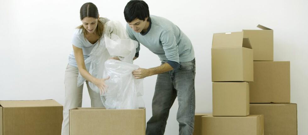 TELLER NEGATIVT: Flytter du ofte, vil dette telle negativt på kredittvurderingen. Foto: COLOURBOX.COM